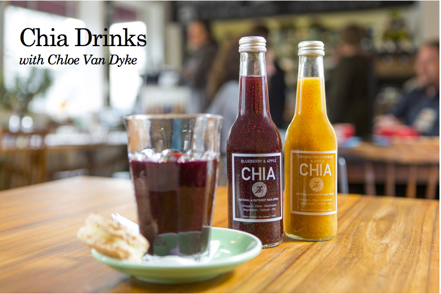 Chia Drinks with Chloe Van Dyke (and her dad)