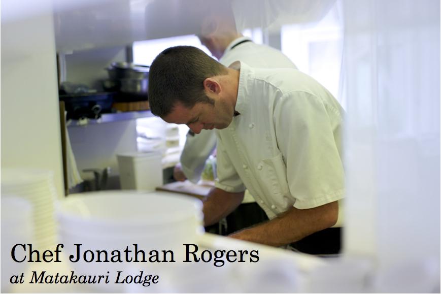 Chef Jonathan Rogers & Matakauri Lodge