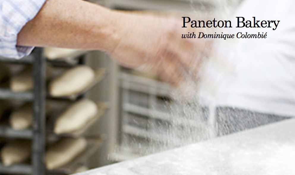 Paneton Bakery with Dominique Colombié