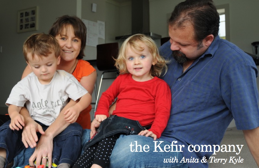 the Kefir company with Anita & Terry Kyle