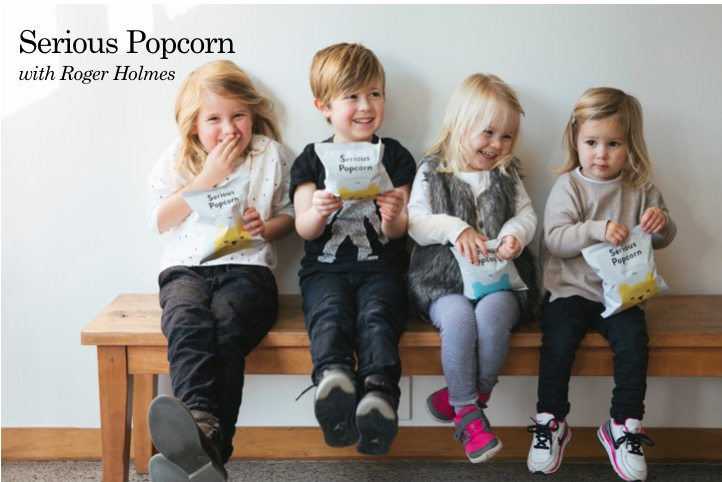 Serious Popcorn with Roger Holmes