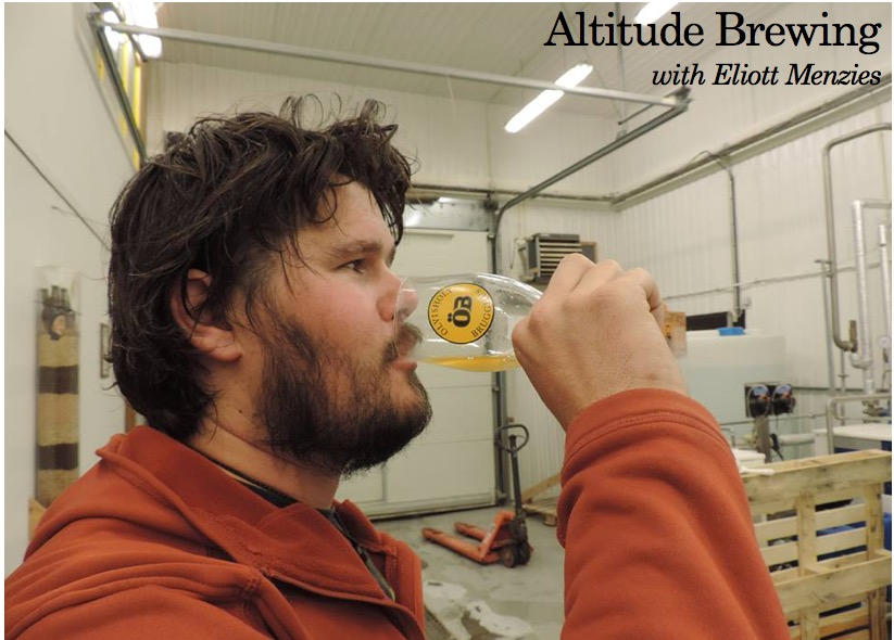 Altitude Brewing with Eliott Menzies