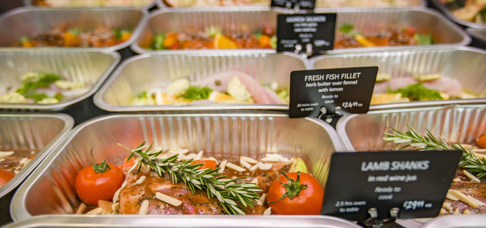 Ready Cook Meals from Raeward Fresh Kitchen