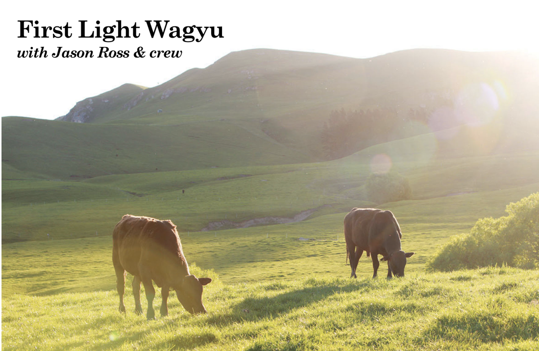 First Light Wagyu Beef with Jason Ross & Crew