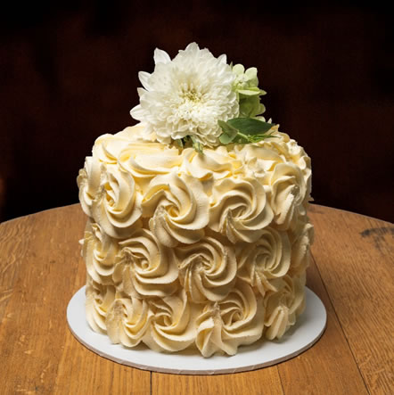 Rosette Finish Buttercream Icing