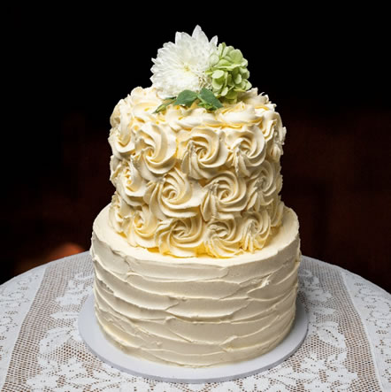 Rosette & Rustic Finish Buttercream Icing