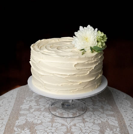 Rustic Finish Buttercream Icing