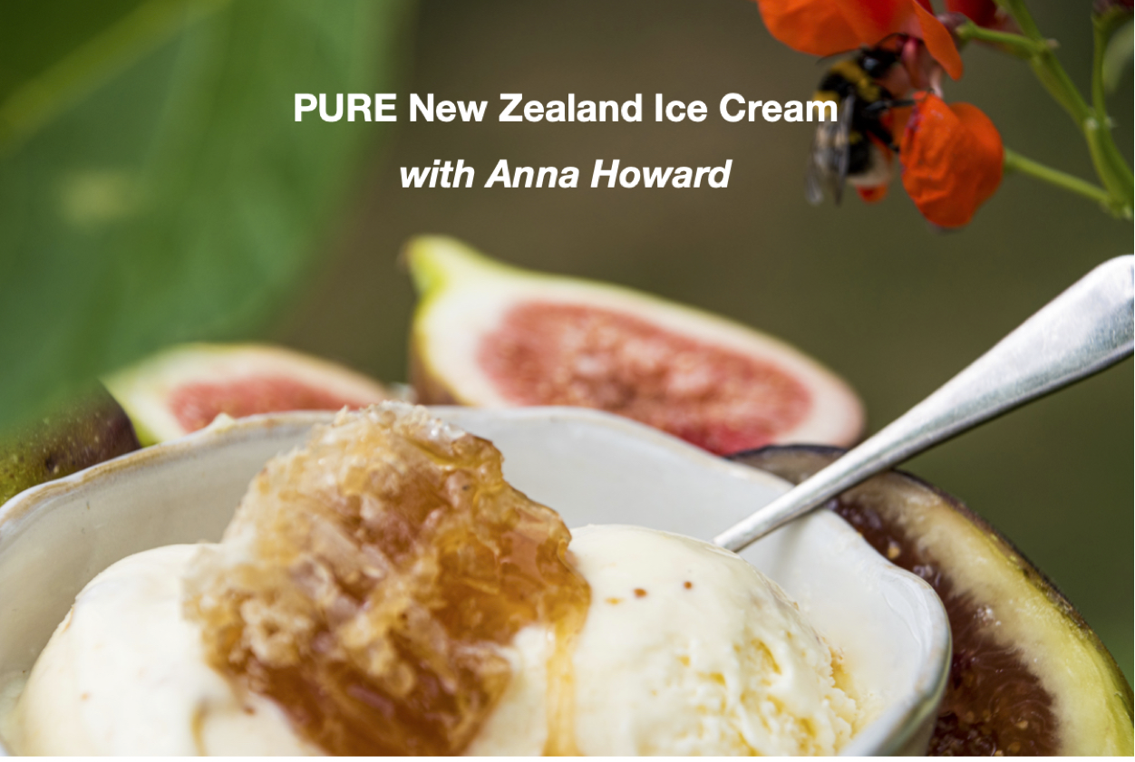 PURE New Zealand Ice Cream with Anna Howard