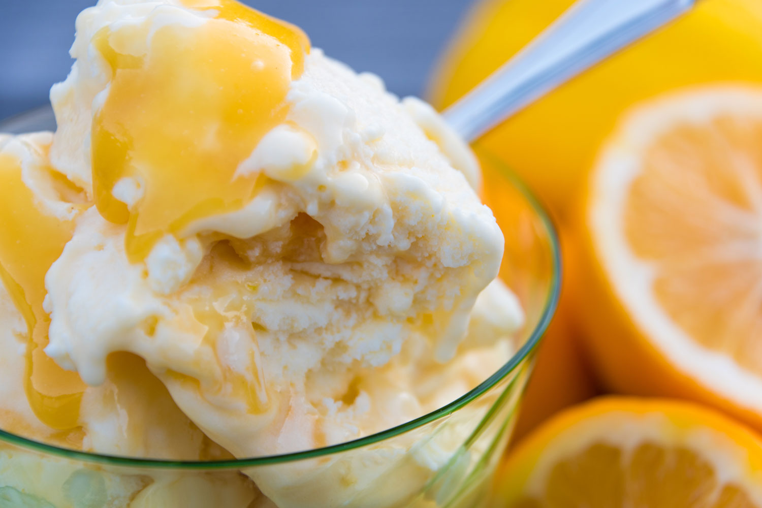 Pure NZ Lemon and Curd Ice Cream